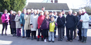 The ToT group ready for Walk 3 Feburary 2012