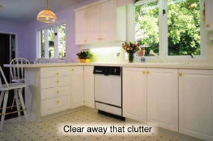 clear away that clutter