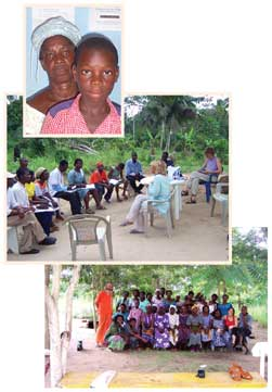 Help in Ghana - (a highly malarial area)