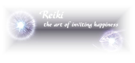 Reiki the art of inviting happiness