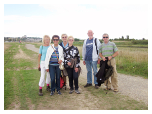 Benfleet Creek walk, September 2013