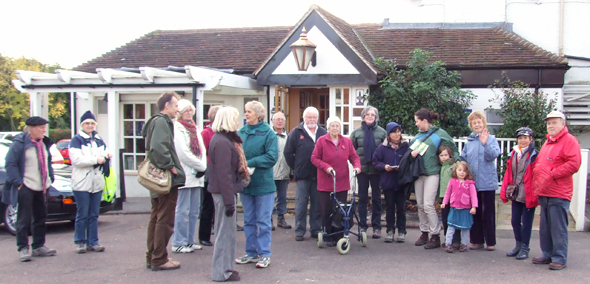 Thundersley on foot - the launch party