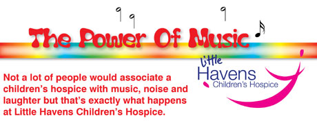 The Power of Music: noise and laughter at Little Haves Hospice