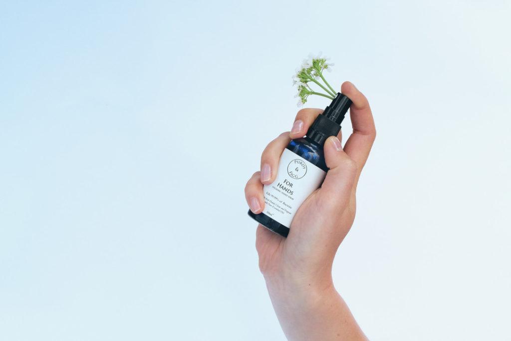 single hand sanitiser with natural essences.jpg