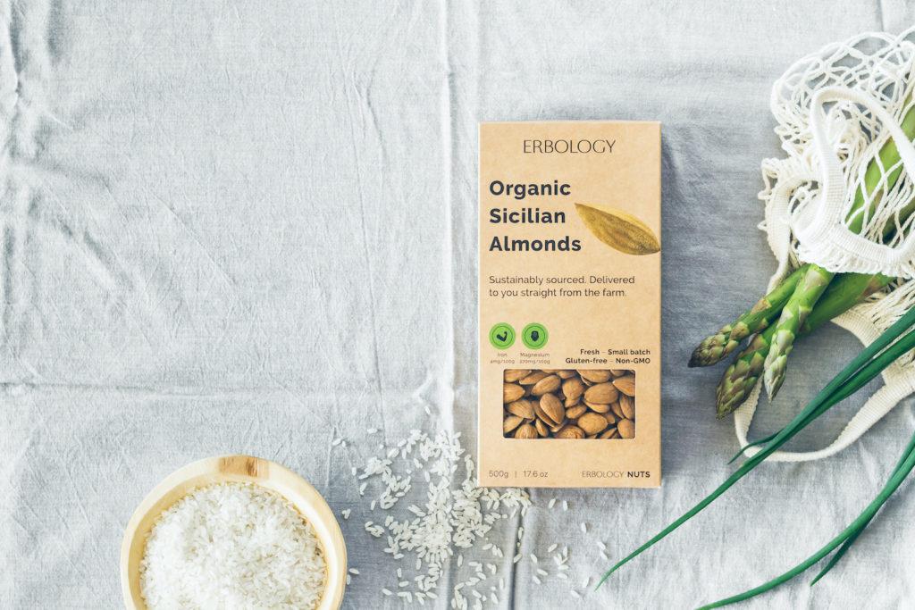 Organic Raw Italian Almonds