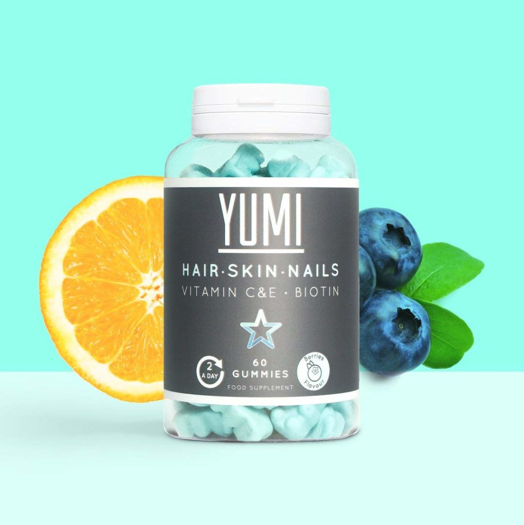 Hair growth gummies