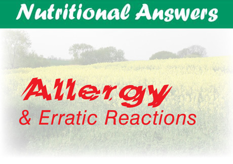 Nutritional Answers _ Allergy and Erratic Reactions