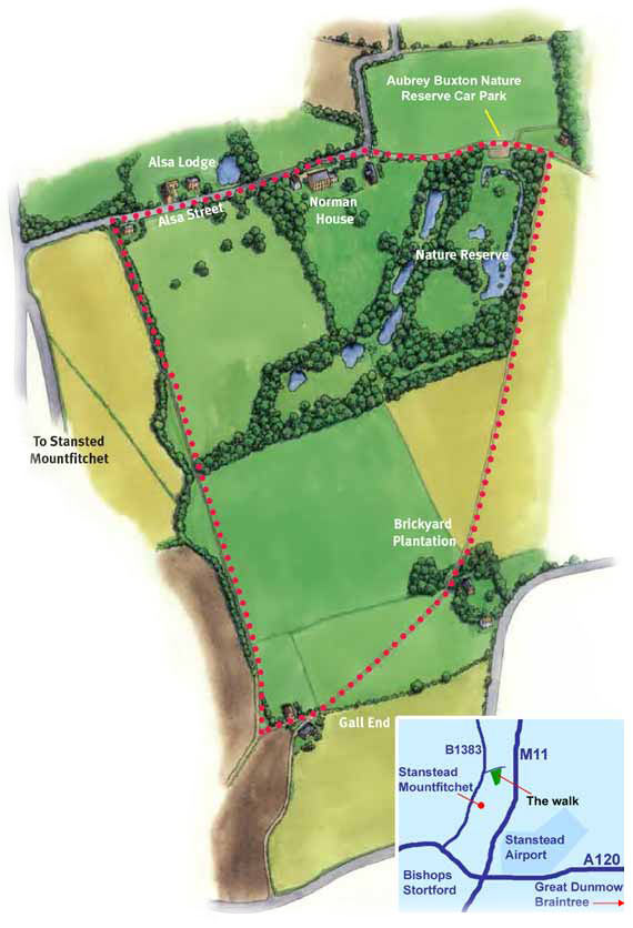 Aubrey Buxton Nature Reserve and Country Walk