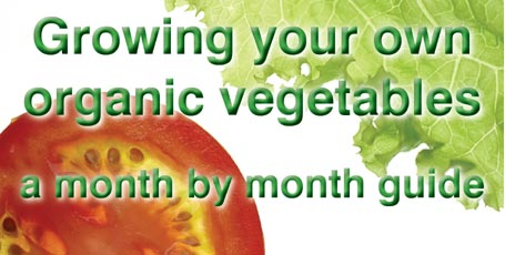 Growing your own organic vegetables – a month by month guide.