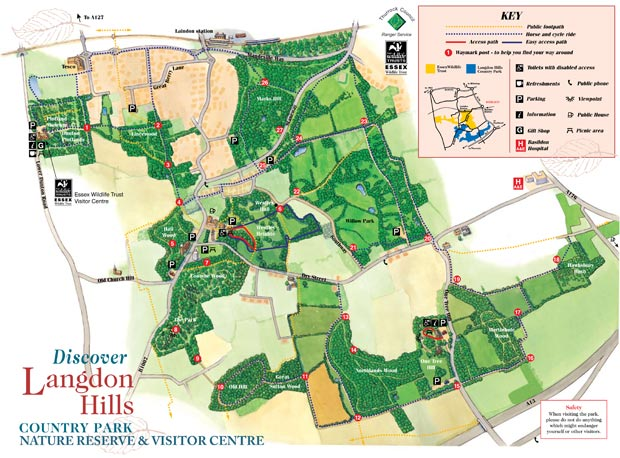 Langdon Hills - Country Park, Nature Reserve and Visitor Centre