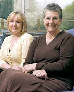 Lorna Ellis and Sue Thompson