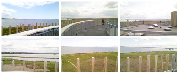 Views from the visitor centre