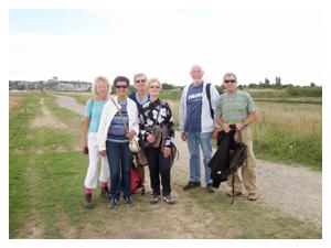 Benfleet Creek walk, September 2013