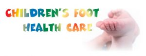 Childrens foot health care
