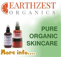 Earthzest pure organic skincare
