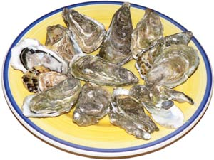 Oysters are high in zinc