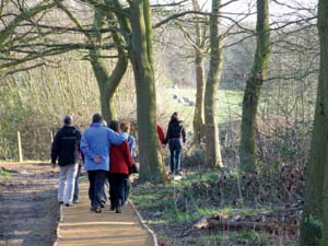 Walking in Hanningfield Reservoir Nature Reserve