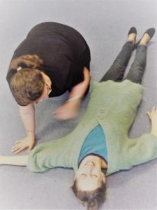 People receiving Family First Aid Training