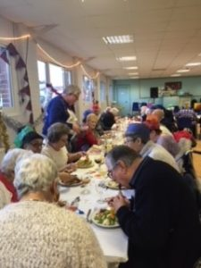 Christmas dinner provided by Age Concern Southend