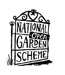 NGS, National Garden Scheme open gate logo