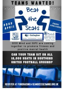 Beat the Seats Challenge at Southend United
