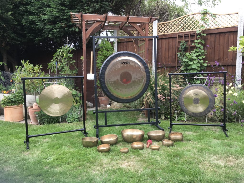 Gongs used in Sound therapy