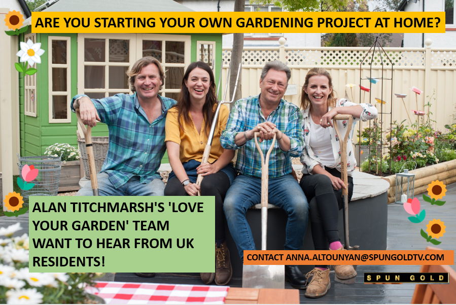 CASTING POSTER for love Your Garden