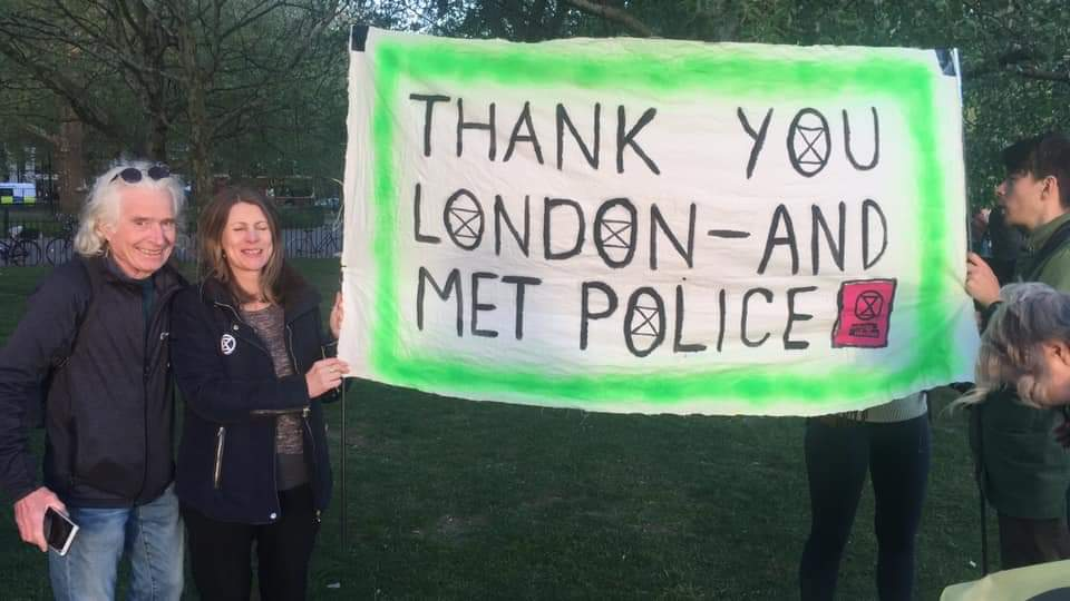 Thank you London and Met police
