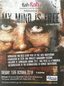 My Mind is Free theatre performance