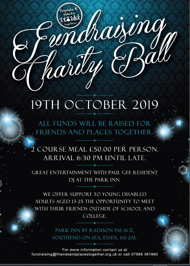 Friends and Places charity Ball