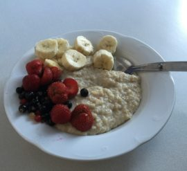 Tip 1 for healthy weightloss. Start your day with a good breakfast