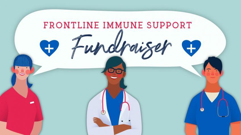 Frontline Immune support crowdfunder
