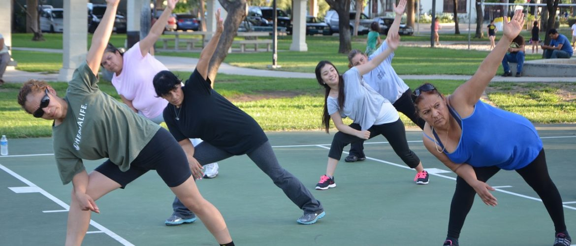 Get active again safely - join an outdoor class
