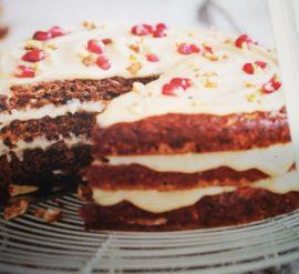 Marlene's carot cake from Go Vegan