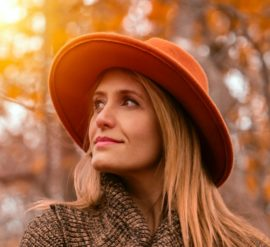 Wear a hat to reduce the effects of ageing on hair and skin