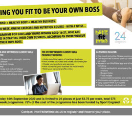 Helping young women get fit for life and business.