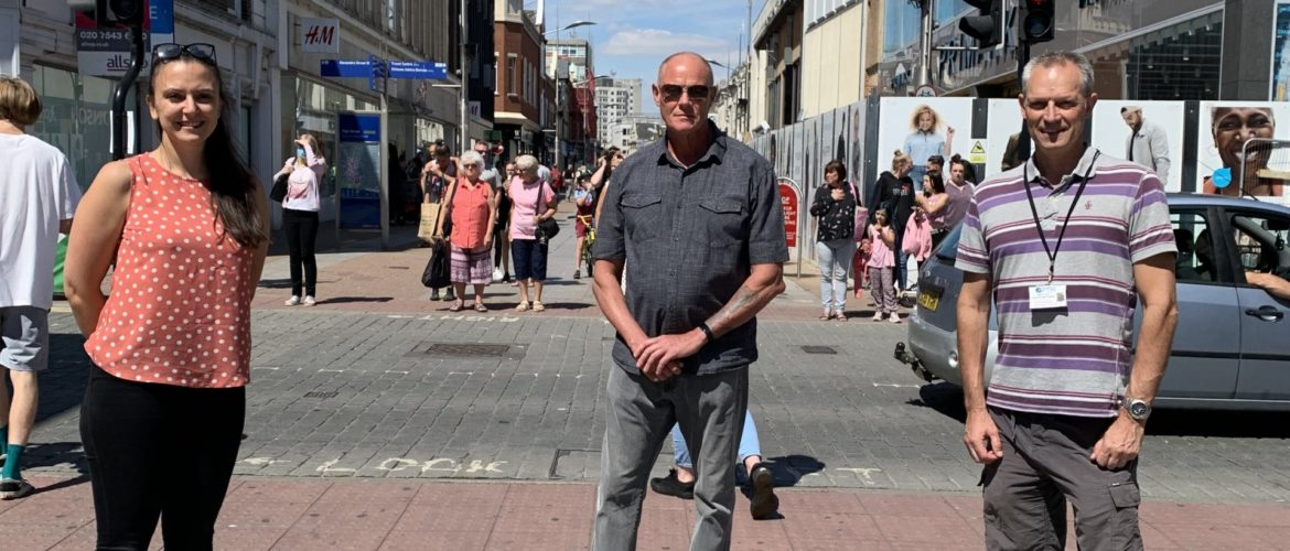 High street accessibility for visually impaired