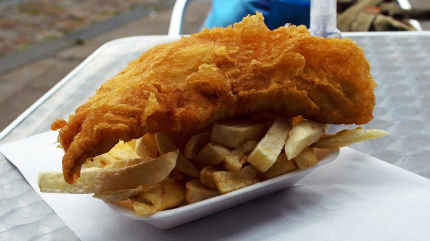 22% people purchase fish and chips from their local chippie weekly