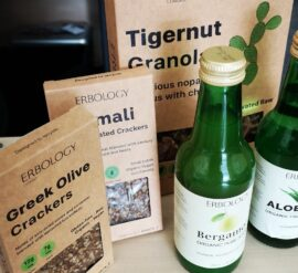 A range of Erbology plant-based products to review