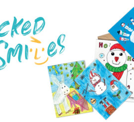 Children's Christmas Card Design Competition launched by Packed with Smiles