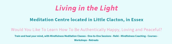 Katarina Tilley from Living in the Light can help you balance your life with meditation