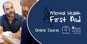 online mental health first aid course, MHFA accredited and delivered by SECE MIND