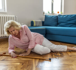 Take steps to avoid slips and trips, especially as you get older an remember home treatments for sprains and strains.