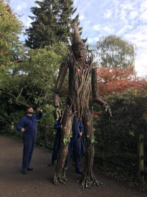 Join Outside In and make a puppet like Arbor the Tree