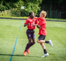 Insire through sports helps inspire young people through sport