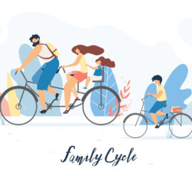 consider cycling as a great sport to enjoy with your kids